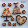 Autumn Birthday dress and cake set