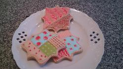 PATCHWORK AND MARBLE COOKIES