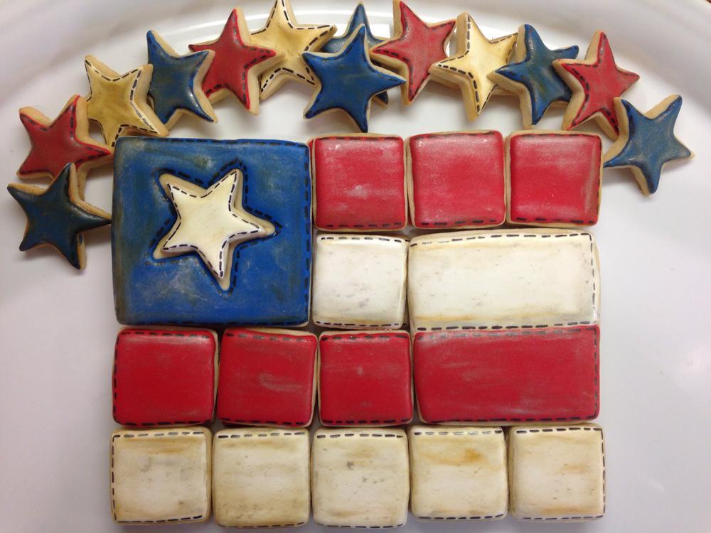 Vintage Flag Platter