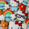 Hello Kitty Cookies by Emma's Sweets
