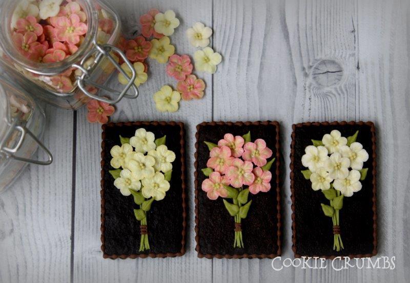 flower bouquet cookies