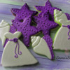 Beach Wedding Cookies by Emma's Sweets
