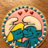Smurfette and Smurf