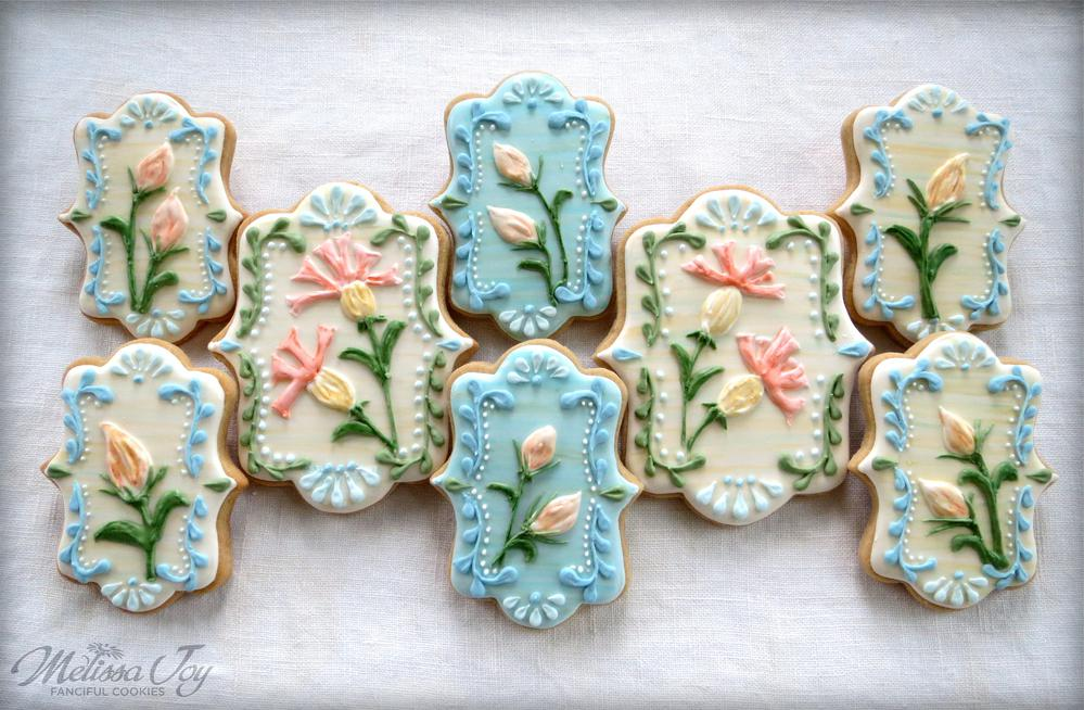 Flower Cookies for Ally