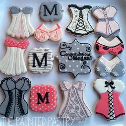 Bachelorette Party Cookie Platter
