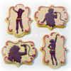 Popstar and Dancer cookies