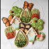 Gardening Themed Cookies