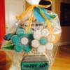 Happy 60th Birthday cookie bouquet