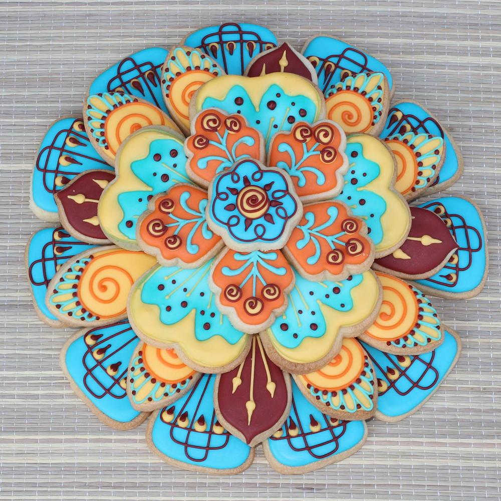 Henna Cookie Stack