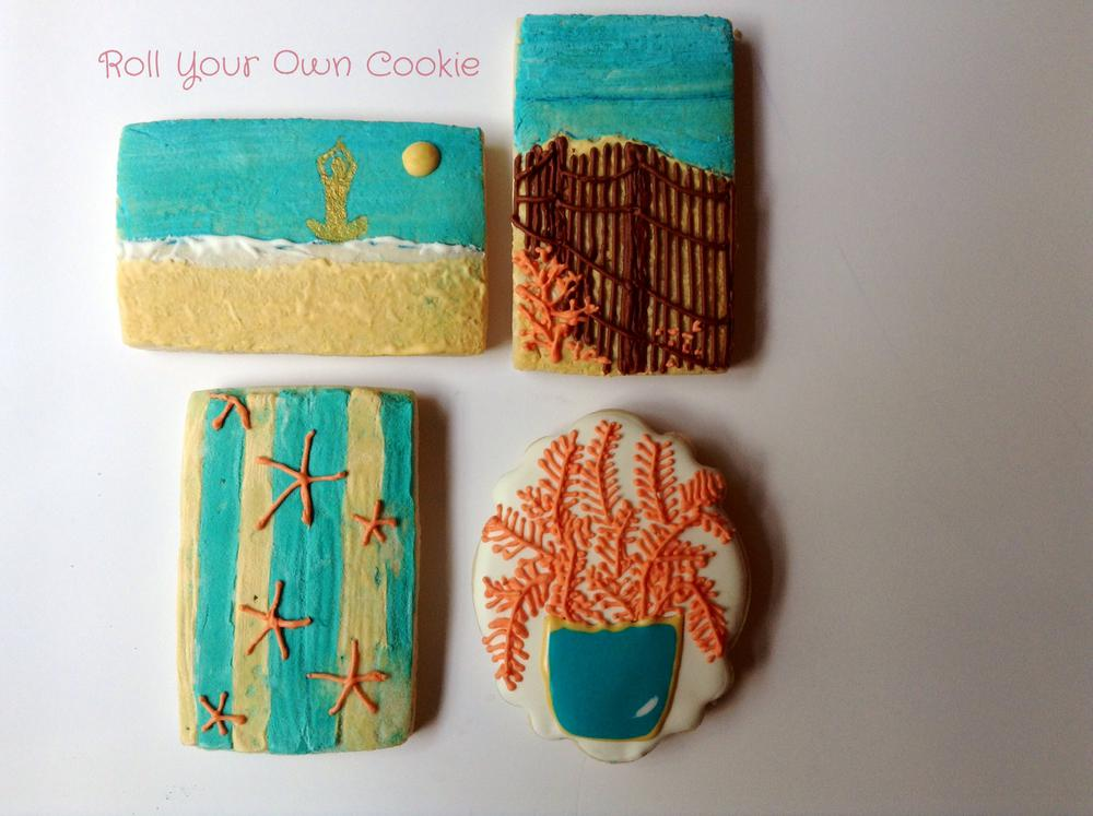 Surf and Sand/by Roll Your Own Cookie