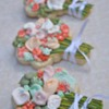 Coral & Mint Bridal Bouquets