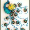 Multi-Color Peacock Cookie