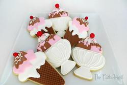 Neapolitan Ice Cream Cookies!