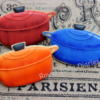 Decorated dutch oven cookies