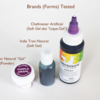 Brands/Forms of Coloring Tested: Photo/Graphic by Julia M Usher