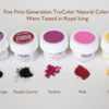 First-Generation TruColor Colorings Tested: Photo/Graphic by Julia M Usher