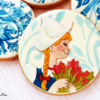 Holland themed Cookies- Delft Blauw Pottery