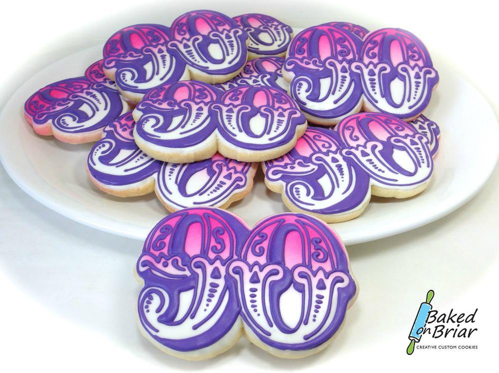 90th Birthday Cookies