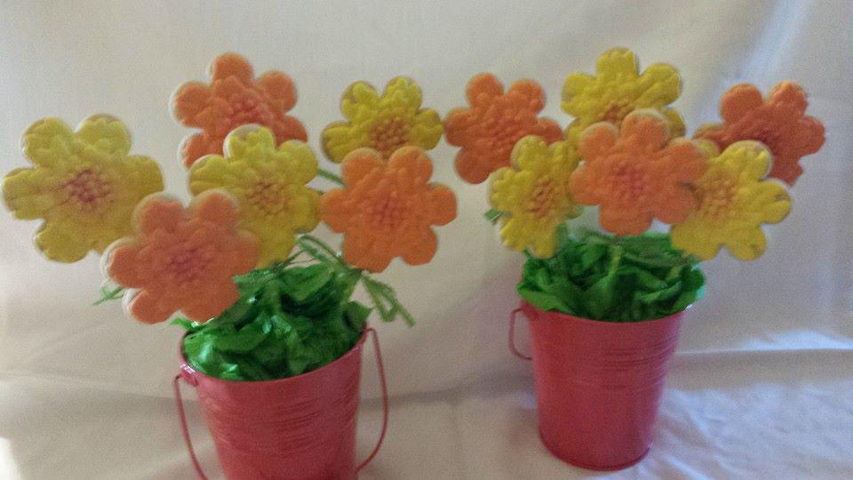 Marigold Cookie Bouquet