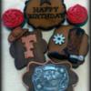 Western Birthday Cookies