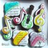 Handpainted Musical Inspirations