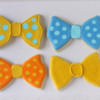 whimsical bowtie cookies