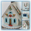 Folk Art Gingerbread House