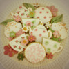 Vintage Tea Party cookie set