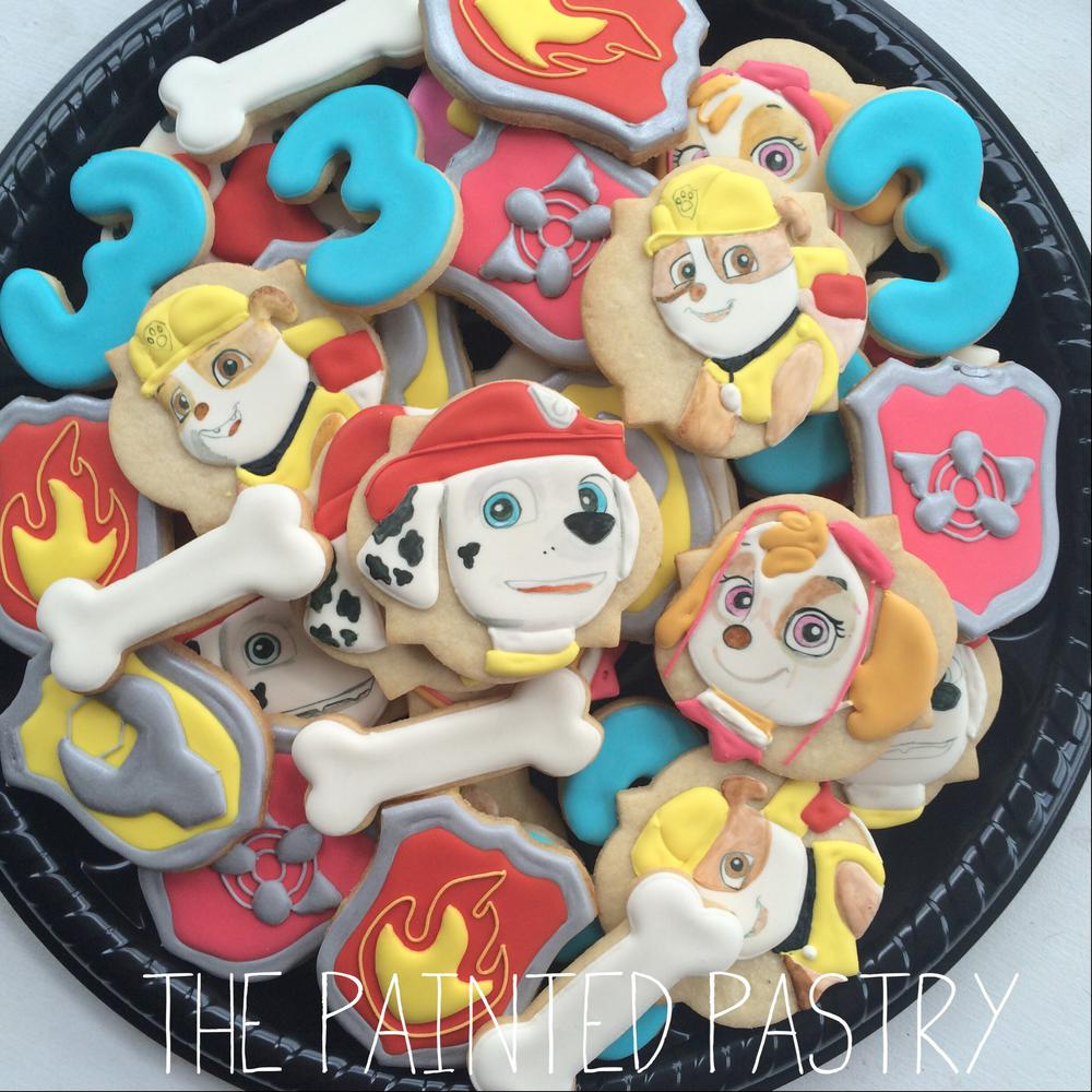 Paw Patrol Platter Cookie Connection