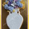 Porcelain Vase and Roses