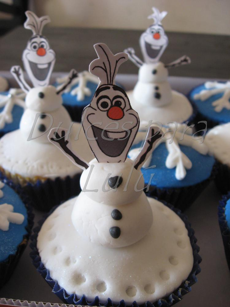 Cupcakes Olaf Cookie Connection