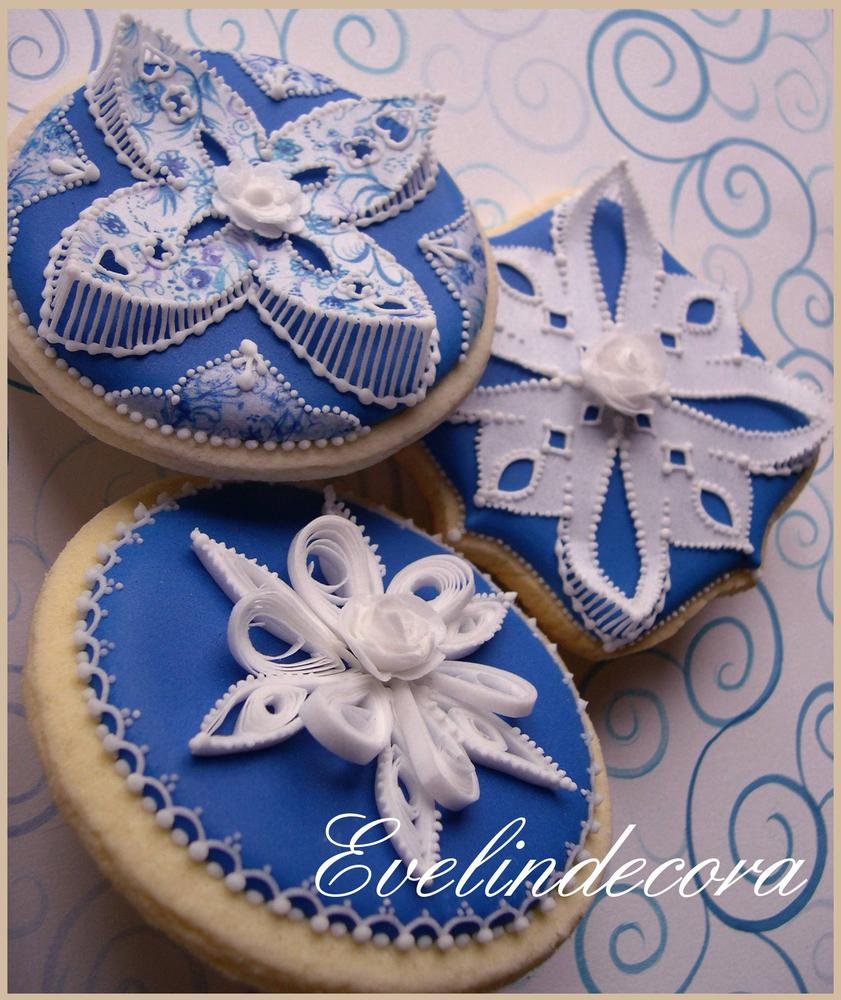 Royal Icing and Wafer Paper Cookies