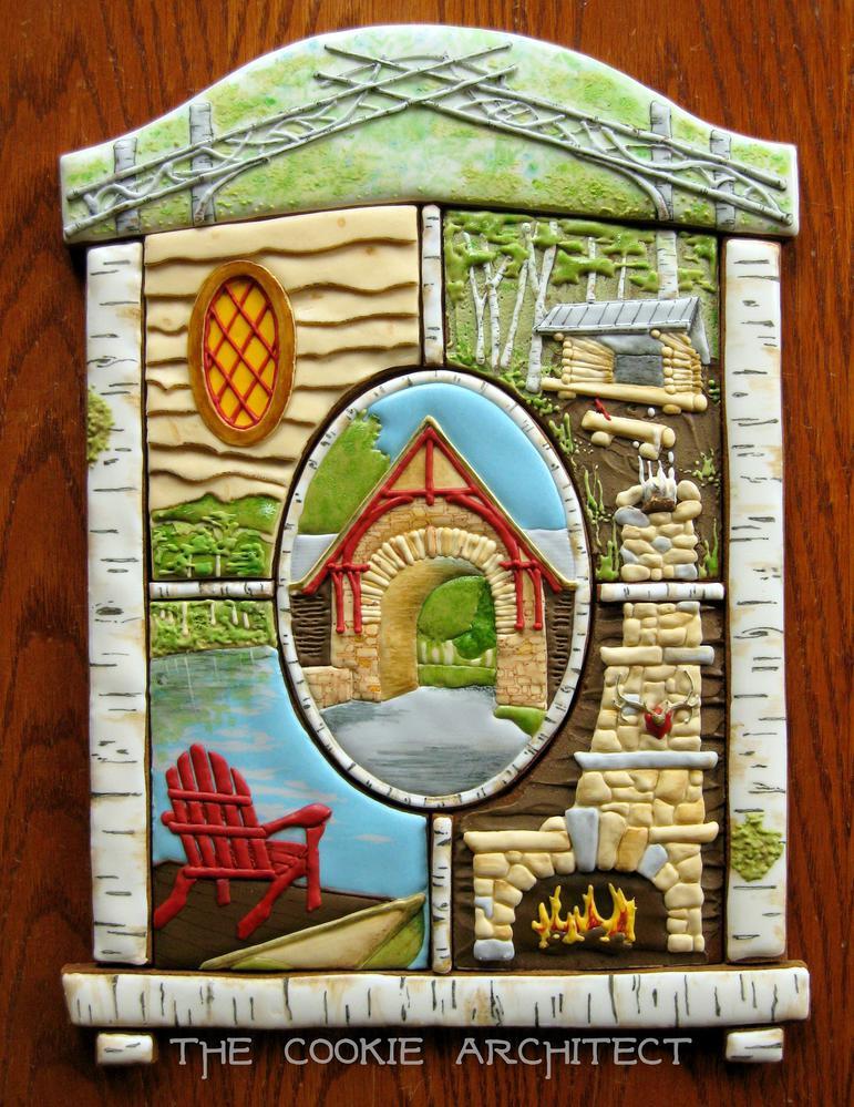 Window into the Adirondacks | The Cookie Architect