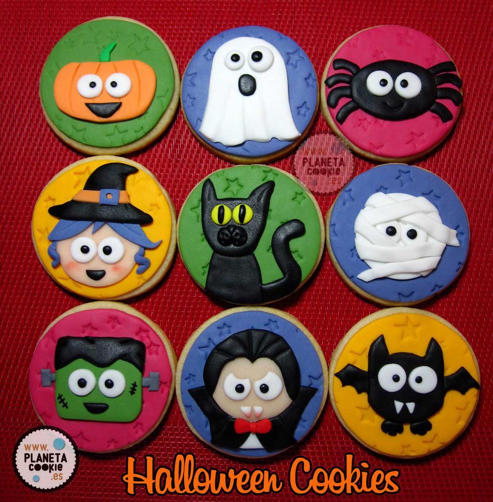 Cute Halloween Cookies