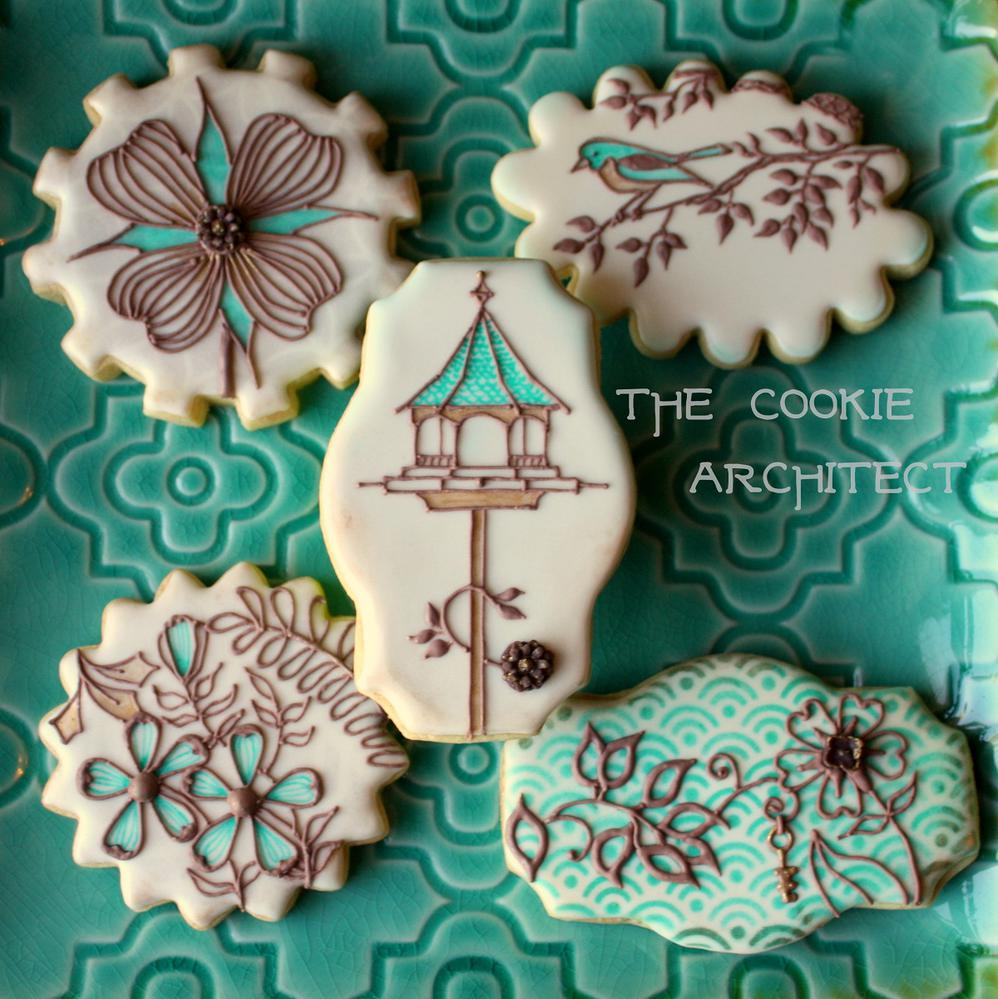 Bird House Fun |The Cookie Architect