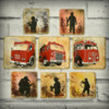 Firefighter Cookie Set