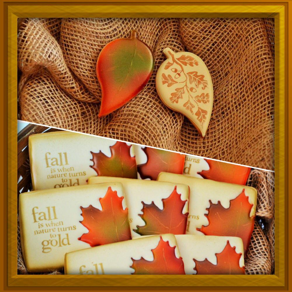 Fall/Autumn Leaves Airbrushing Tutorial