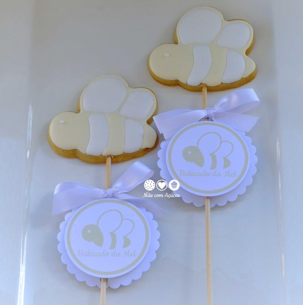 Bee Cookies for Christening