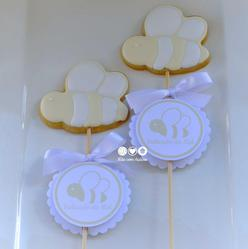 Bee Cookies for Christening