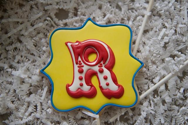 Carnival Cookie Pops