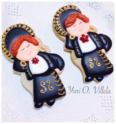 Mariachis en galletas