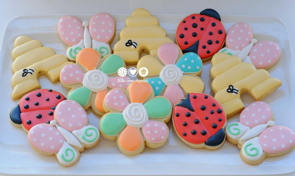 Garden Decorated Cookies