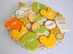 Pregnancy Reveal Cookies
