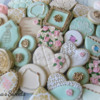 Vintage Inspired Cookies by Emma's Sweets