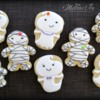 Easy Ghost & Mummy Cookies by Melissa Joy