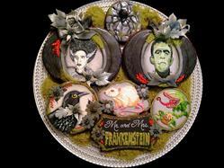 Mr. and Mrs. Frankenstein Get Married