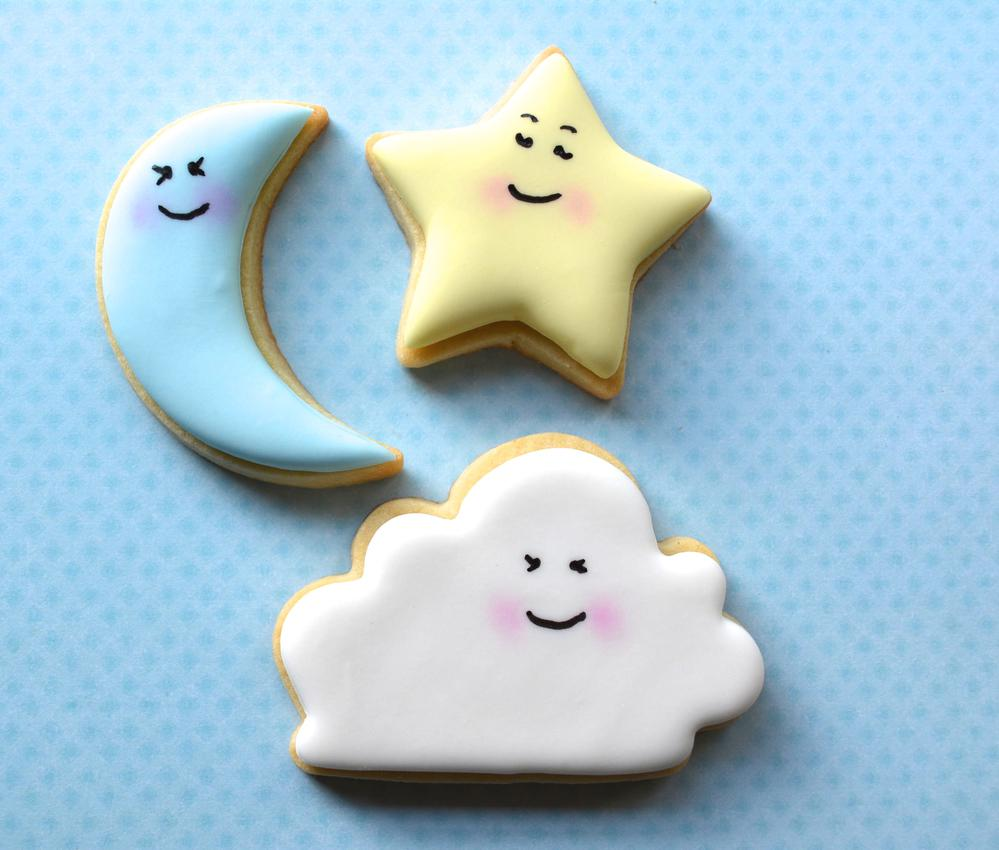 Cloud, Star & Moon | Cookie Connection