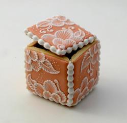 Brush Embroidery box