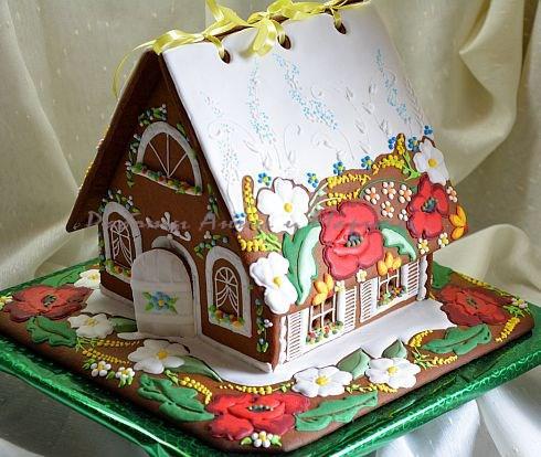 "Gingerbread House ""Poppy"""