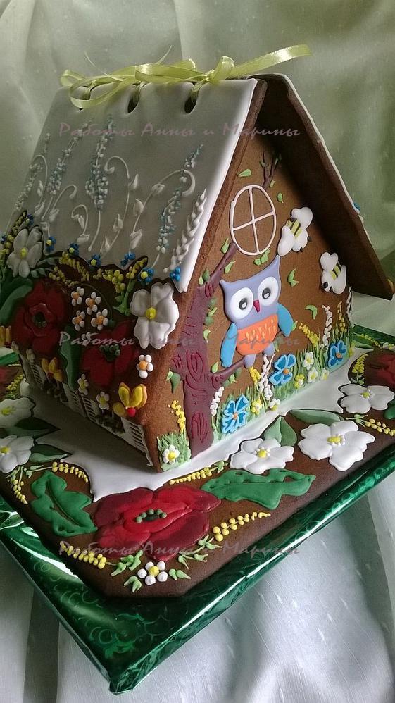 "Gingerbread House ""Poppy2"" back side"